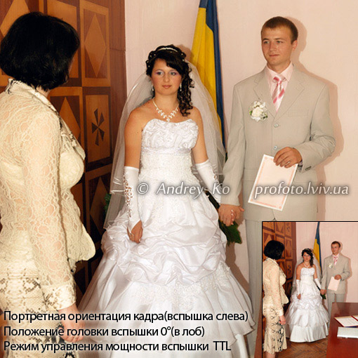 wedding photography newlyweds in a registry office