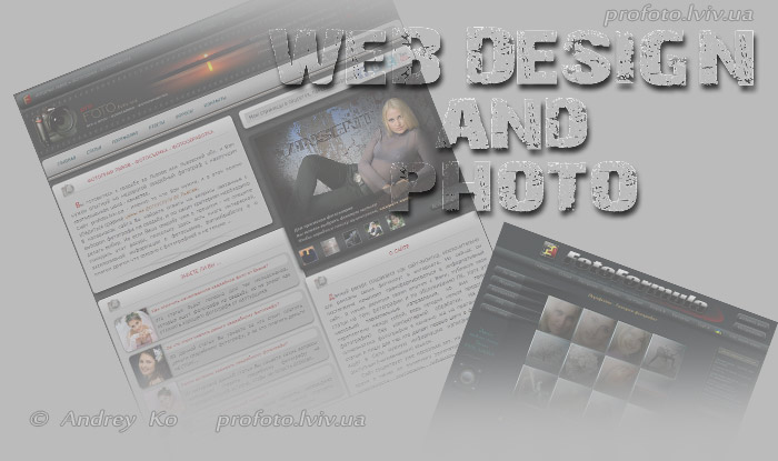 web design and photo