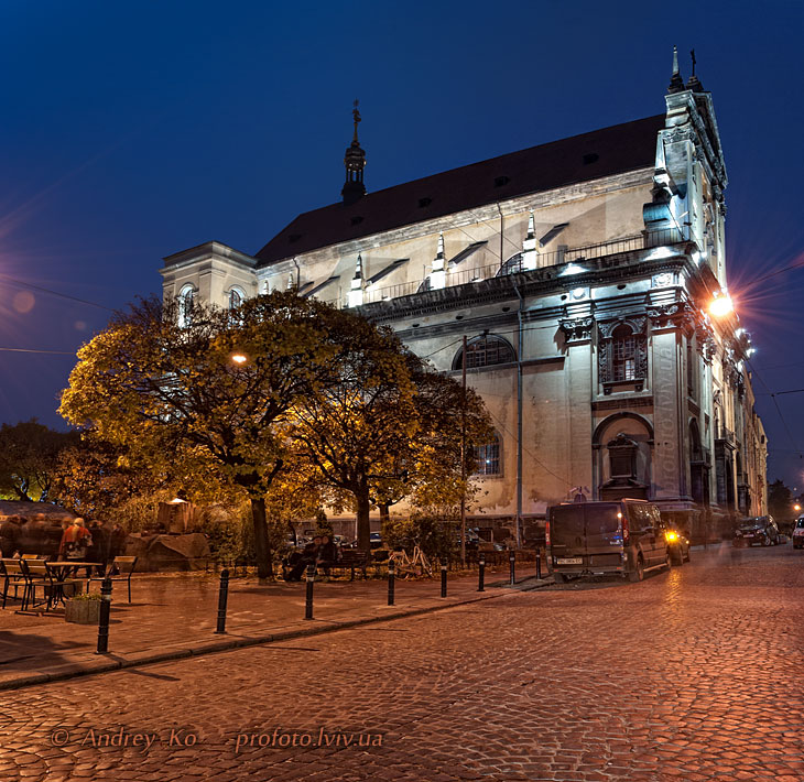Church of the Jesuits in Lviv