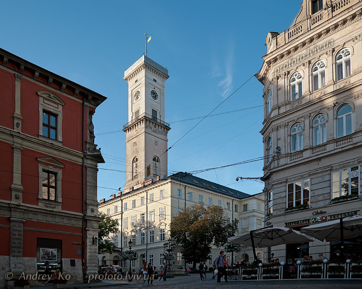 Lookout Tower Lviv City Hall